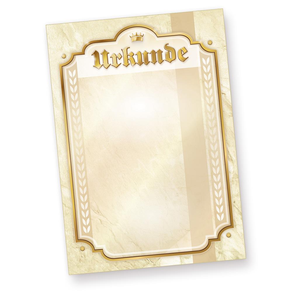 Urkundenpapier A4 10 Stueck