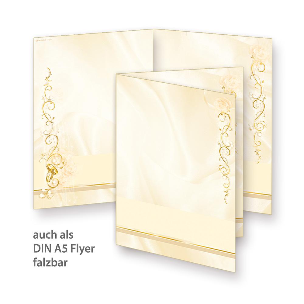 Umschläge DIN A4 Liebe Grau mit Ringen Papier 100 Sets