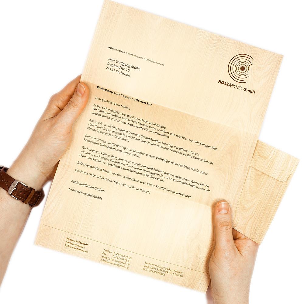 Motiv-Briefpapier-Set BESINNLICHE WEIHNACHT 40-tlg
