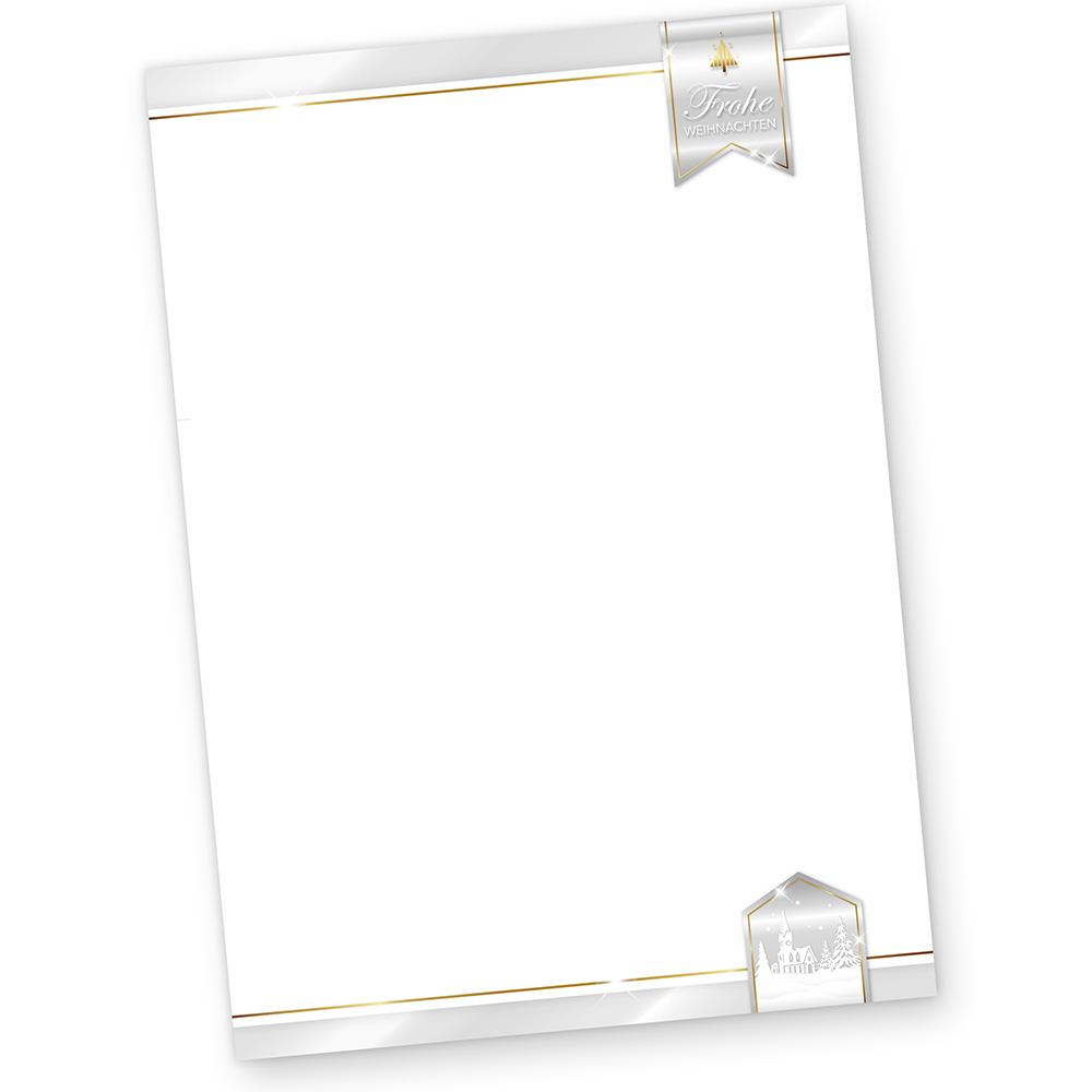 Business Design 250 Blatt Briefpapier Weihnachten geschäftlich kaufen