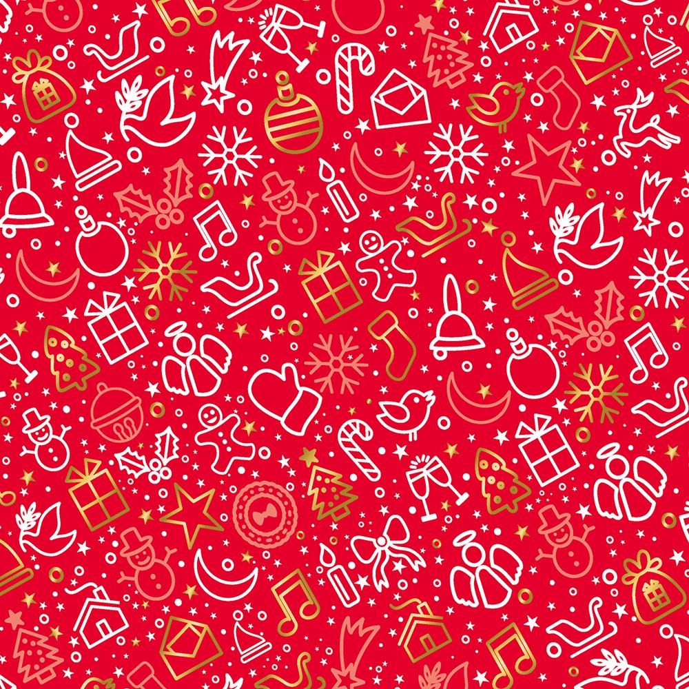 geschenkpapier weihnachten rot 10 bogen weihnachtsgeschenkpapier. Black Bedroom Furniture Sets. Home Design Ideas