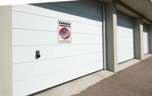 Schrauben Parkverbot Schild Halteverbot Parkverbotsschild Parken Verboten inkl