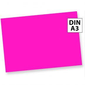 Neonpapier NEON PINK (50 Blatt) DIN A3 80 g/qm farbiges Briefpapier, Leuchtpapier