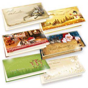 Weihnachtskarten Mix