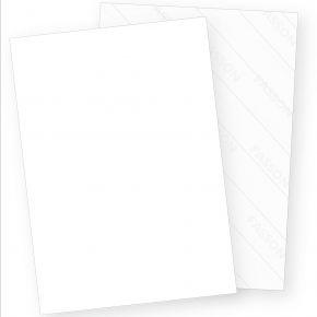 Aufkleber selbstklebend A4 (3000 Blatt) weiß matt, Rückseite geschlitzt (Crack-Back) zum Einfachen ablösen, für Laser- und Inkjetdrucker geeignet, Hight Quality