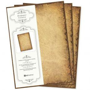 Altes Briefpapier CASANOVA (100 Blatt) Motivpapier