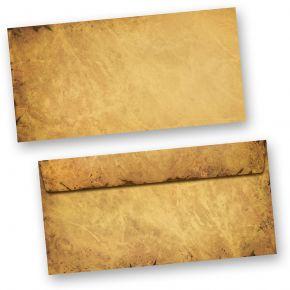 Umschläge Weihnachten NORDPOL EXPRESS (250 Stück ohne Fenster) altes Papier für Weihnachten