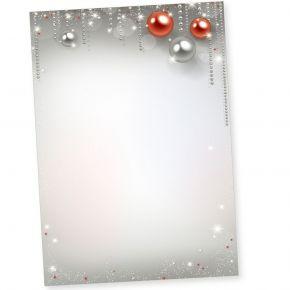 Gala-Design 500 Blatt Briefpapier Weihnachten A4, Weihnachtsbriefpapier geschäftlich