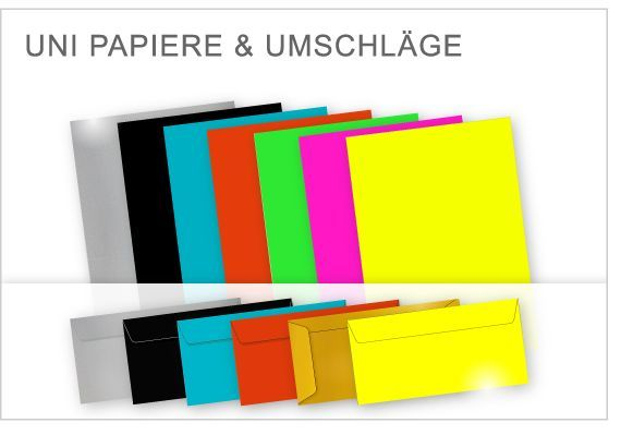 Briefpapier Unifarben