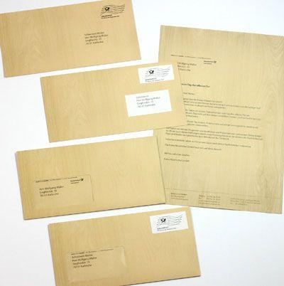 Absender briefe empfänger verschicken Brief Beschriften